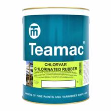 Teamac Chlorvar Chlorinated Rubber Paint